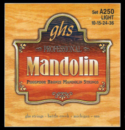 GHS Professional Phosphor Bronze Light Mandolin Strings
