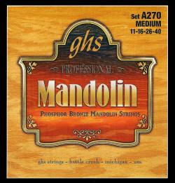 GHS Professional Phosphor Bronze Medium Mandolin Strings