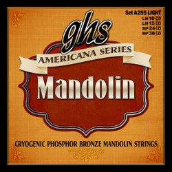 GHS Americana Series Phosphor Bronze Light Mandolin Strings