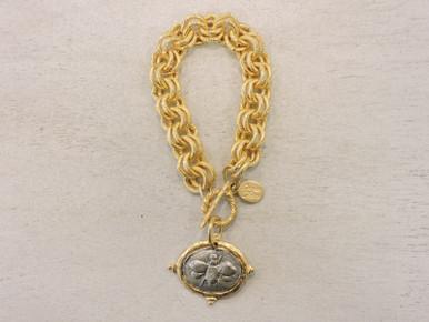 Susan Shaw Gold Bracelet