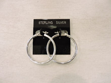 Sterling Siver Hoop Earrings