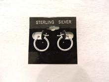 Sterling Silver Hoop Earrings $10