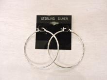 Sterling Silver Hoop Earrings $32