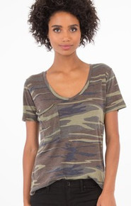 Z Supply camo pocket tee