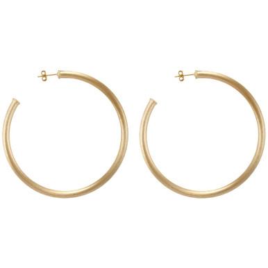 Everybody's favorite gold hoop earrings
