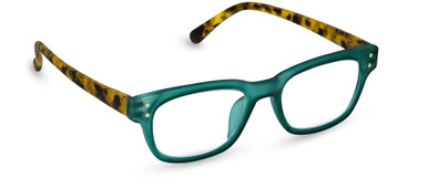 Peepers in green and tortoise