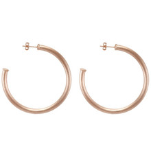 Sheila Fajl Small Everybody's Favorite Hoop Earring Rose Gold