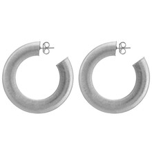 Sheila Fajl Irene Hoop Earrings Silver