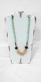 Chic Happens-Empower-mint Necklace