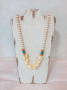 On Island Time- Chic Happens Shell Necklace