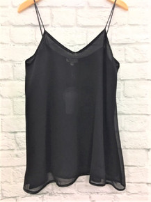 **SOLD OUT** flowy black tank