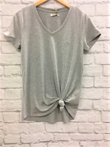 **SOLD OUT** Grey knot top