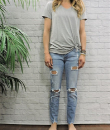 **SOLD OUT** Lt ripped jeans