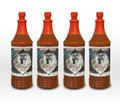 "Zombie Cajun ""The Antidote"" Hot Sauce Habanero (4 Pack 6oz)"