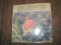 Norfolk and Suffolk Waveney Valley Bird dawn chorus CD,Natural organic sleep,insomnia aid