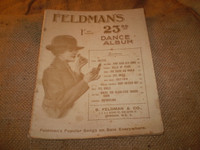 Historic end of WW1 sheet music in fine condition