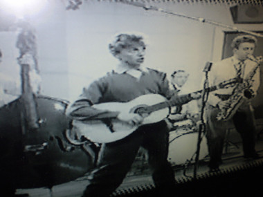 Tommy Steele,one of Britains biggest Rock n Roll stars in the 1950's.