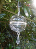 Lovely Danish Bauble with crystals all around the centre and at random across the item.