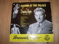 Danny Kaye at the Palace 10 inch 1953 Vinyl LP, Great condition