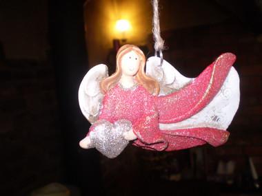 Pretty Happy Angel for Christmas