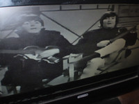 "The Beatles in Rare Film singing ""Ticket to Ride"""