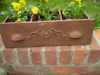 Planter is in the Style of an Antique Furniture Draw