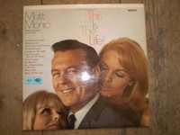 This is The Life Matt Monro Vinyl LP Album, 1966 Stereo First issue,Near Mint.