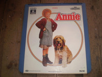 Rare Vintage Video Disc,Annie,Albert Finney