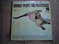 Quincy plays for Pussycats Jazz  Vinyl LP Album,Quincy Jones,Near mint condition