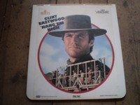 Rare Vintage Video Disc, Hang em High, Clint Eastwood Western