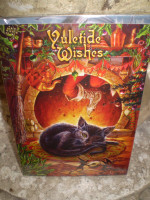 Traditional English Christmas,Yule Cat,Fairy card,Eco Friendly