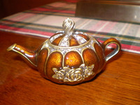 Gorgeous Danish Austrian Crystal Teapot Trinket Box,Jewellery,Gift for her