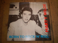 Born To Rock n Roll, Marty Wilde Vinyl LP Album, Near Mint Condition