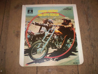 Rare Vintage Video Disc,Easy Rider 1969 film,Peter Fonda,Jack Nicholson,Dennis Hopper