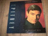 Gene Pitney 20 Greatest Hits Vinyl LP Album,German Pressing,Lovely condition
