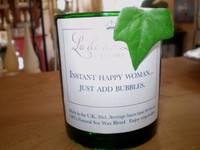 Instant Happy Woman, Just add Bubbles, Luxury Scented Friend Occasion Candle