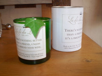Luxury Scented Occasion Soy Candle, There's nothing better than a friend unless its a  friend with Wine