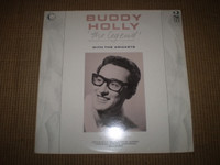 Buddy Holly Connoisseur Collection Double Vinyl LP Album, Near Mint