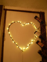 Danish Christmas Led Light Heart hanging decoration