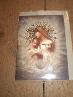 Gorgeous English Victorian Style Christmas,Yule Card,Divine Star,Nativity Card