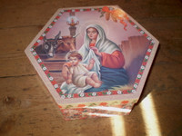 Dutch Christmas Nativity Gift Box