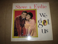We Got Us, Steve Lawrence, Eydie Gorme Stereo Jazz Vinyl LP Album, Near Mint