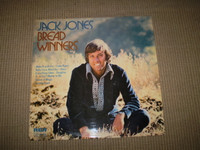 Bread Winners Vinyl LP Album, Jack Jones, Near Mint Condition