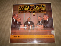 Board of Directors Vinyl Jazz LP, Count Basie, The Mills Brothers, Near Mint