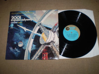 2001 A Space Odyssey Vinyl LP Album, Original 1968 Stereo, Near Mint