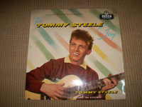 The Tommy Steele Story Vinyl LP Album, 1957 10 inch Rock n Roll, VGC