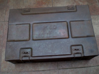 WW2 Militaria, British 1943 Stamp Dated Artillery Box, 8th Army, Great condition