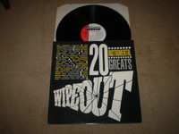 Wipeout, 20 Instrumental Greats Vinyl LP Album, Near Mint, Shadows, Jet Harris