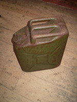 British Army 1953 Stamp Dated Jerry Can, Military Reclamation, Fuel Can