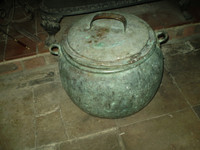 Vintage Kitchenalia, 19th Century French Large Copper Cooking Pot, Excellent
